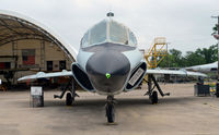 56-2337 @ KFTW - Head on - Two seat TF-102A Fort Worth Aviation Museum - by Ronald Barker