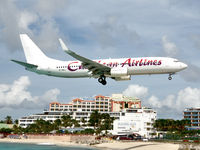 9Y-MBJ @ TNCM - On short finals to St Maarten. - by kenvidkid