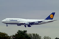 D-ABYJ @ EDDF - Boeing 747-830 [37834] (Lufthansa) Frankfurt~D 20/08/2013