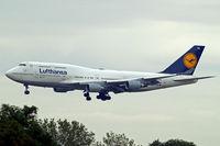 D-ABVM @ EDDF - Boeing 747-430 [29101] (Lufthansa) Frankfurt~D 20/08/2013