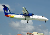 V2-LFV @ SXM - On short finals to St Maarten. - by kenvidkid