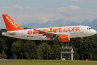 G-EZAW @ LSGG - Landing rwy 23 without 'Come on, Let's fly' titles - by Shunn311