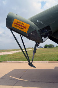 153715 @ KFTW - Patches Fort Worth Aviation Museum - by Ronald Barker