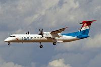 LX-LGG @ EDDF - de Havilland Canada DHC-8Q-402NG [4418] (Luxair) Frankfurt~D 19/08/2013