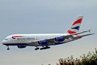 G-XLEA @ EDDF - Airbus A380-841 [095] (British Airways) Frankfurt~D 20/08/2013