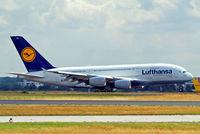D-AIMJ @ EDDF - Airbus A380-841 [073] (Lufthansa) Frankfurt~D 20/08/2013
