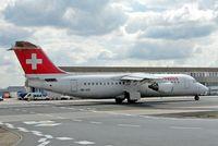 HB-IXO @ EDDF - BAe 146RJ-100 [E3284] ( Swiss European Air Lines) Frankfurt~D 20/08/2013