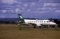 VH-HVS @ YWLM - Photographed at Newcastle Airport, NSW in 1984 before company name changed to Eastern  Airlines