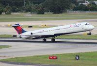 N905DE @ TPA - Delta MD-88 - by Florida Metal