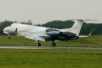 M-RCCG @ LFRB - Embraer EMB-135BJ Legacy, Landing rwy 25L, Brest-Bretagne Airport (LFRB-BES) - by Yves-Q