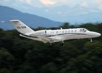 CS-DGW @ LSGG - Landing rwy 23 - by Shunn311