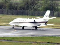CS-DFR @ EGPH - Lined-up for take off at Edinburgh EGPH - by Clive Pattle