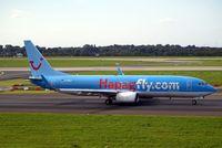 D-AHLP @ EDDL - Boeing 737-8K5 [32905] (Hapag-Lloyd/TUIfly) Dusseldorf~D 15/09/2007 - by Ray Barber