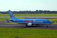 D-AHFE @ EDDL - Boeing 737-8K5 [27979] (Hapag-Lloyd/TUIfly) Dusseldorf~D 15/09/2007 - by Ray Barber
