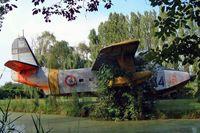 MM51-7253 - Grumman G-64 HU-16A Albatross [G344] (Italian Air Force) San Pelagio~I 16/07/2004. Has since been broken up. - by Ray Barber