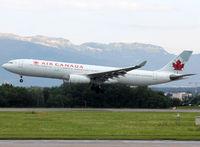 C-GFAF @ LSGG - Landing rwy 23 - by Shunn311