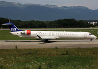 LN-RNL @ LSGG - Taxiing holding point rwy 23 for departure... - by Shunn311