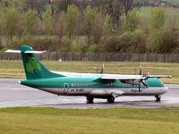 EI-REO @ EGPH - Hold for take off at Edinburgh - by Clive Pattle