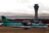 EI-REO @ EGPH - Take off run at Edinburgh - by Clive Pattle