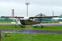 C-GNFO @ CYHU - Cessna 172L Skyhawk [172-59394] St Hubert~C 17/06/2005 - by Ray Barber