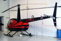 C-FBLA @ CYHU - Robinson R-44 Raven II [10361] St. Hubert~C 17/06/2005 - by Ray Barber