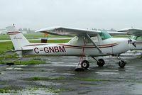 C-GNBM @ CYHU - Cessna 150M [150-76331] St. Hubert~C 17/06/2005 - by Ray Barber