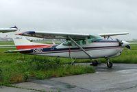 C-GDKZ @ CYHU - Cessna R.182 Skylane RG [R182-01491] St. Hubert~C 17/06/2005 - by Ray Barber