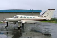 C-GAPZ @ CYHU - Cessna 414 Chancellor II [414-0467] St. Hubert~C 17/06/2005 - by Ray Barber