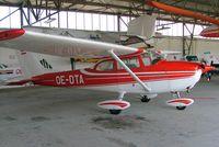 OE-DTA @ LOAU - R/Cessna F.172L Skyhawk [0857] Stockerau~OE 11/07/2009 - by Ray Barber