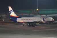 D-ASXG @ LOWW - SunExpress Germany Boeing 737 - by Andreas Ranner