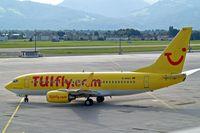 D-AHXJ @ LOWS - Boeing 737-7K5 [35277] (TUIfly.com) Salzburg~OE 16/07/2009 - by Ray Barber