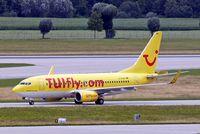 D-AHXH @ EDDM - Boeing 737-7K5 [35282] (TUIfly.com) Munich-Franz Josef Strauss~D 19/07/2009 - by Ray Barber