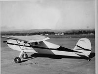 N1900V @ ACV - Taken at Arcata/Eureka Airport (ACV) circa 1960; Jointly owned then by Kenneth M. Hill and James J. Hill - by Kenneth M. Hill (deceased) - submitted by Donald R. Hill
