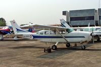 A-2005 @ WIIH - Cessna T207 Turbo Stationair [Unknown] (Indonesian Air Force) Jakarta-Halim Perdanakusuma Int~PK 25/10/2006 - by Ray Barber