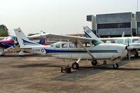 A-2005 @ WIIH - Cessna T207 Turbo Stationair [Unknown] (Indonesian Air Force) Jakarta-Halim Perdanakusuma Int~PK 25/10/2006