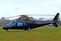 G-USTH @ EGBC - G-USTH   Agusta A.109A-2 [7304] (Cheqair Ltd) Cheltenham Racecourse~G 14/03/2008