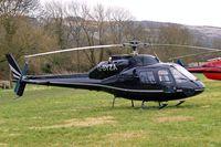 G-BYZA @ EGBC - Aerospatiale AS.355F2 Ecureuil II [5518] (MM Air) Cheltenham Racecourse~G 13/03/2008
