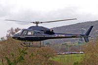 G-VONE @ EGBC - Aerospatiale AS355F2 Ecureuil II [5572] (Von Essen Aviation Ltd) Cheltenham Racecourse~G 13/03/2008