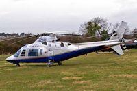 G-CERO @ EGBC - Agusta A-109C [7627] (Castle Air Ltd) Cheltenham Racecourse~G 13/03/2008