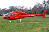 G-OHMS @ EGBC - Aerospatiale AS.355F1 Ecureuil II [5194] (Western Power Distribution) Cheltenham Racecourse~G 14/03/2008