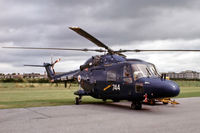 XZ240 @ EGDY - Westland Lynx HAS.3 [049] (Royal Navy) RNAS Yeovilton~G 05/08/1978. Taken from a slide.