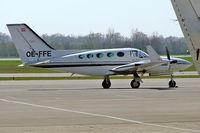 OE-FFE @ LOWW - Cessna 421C Golden Eagle [421C-0120] Vienna-Schwechat~OE 16/04/2005