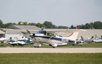 N92481 @ KOSH - Cessna 182N - by Mark Pasqualino