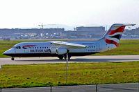 G-CFAH @ EDDF - BAe 146RJ-100 [E3384] (British Airways CitiExpress) Frankfurt~D 22/04/2005