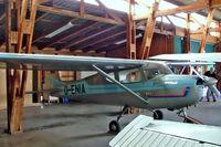 D-ENIA @ EDML - Cessna 150 [17844] Landshut~D 19/04/2005 - by Ray Barber