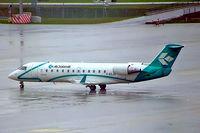 I-ADJA @ EDDM - Canadair CRJ-200LR [7478] (Air Dolomiti) Munich-Franz Josef Strauss~D 19/04/2005. Taken during a rain storm.
