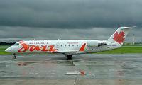 C-GKEP @ CYUL - Canadair CRJ-200ER [7303] (Air Canada Jazz) Montreal-Dorval~C 16/06/2005 - by Ray Barber