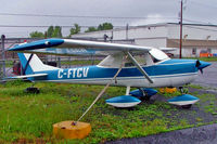 C-FTCV @ CYJN - Cessna 150F [150-62922] St. Jean~C 17/06/2005 - by Ray Barber