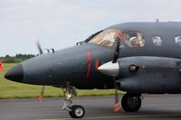 076 @ LFOA - Embraer EMB-121AA Xingu, Taxiing after landing,  Avord Air Base 702 (LFOA)  Open day 2012 - by Yves-Q