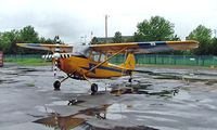 C-FTGE @ CYJN - Cessna L-19A Bird Dog [23477] (Royal Canadian Air Cadets / Air Cadets de L Air ) St. Jean~C 17/06/2005 - by Ray Barber